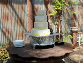 Batman wedding cake wedding side