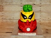Fist-mask-and-hand-cake