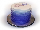 Purple-ombre-ruffles-cake