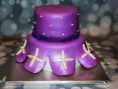 Purple-princess-dress-cake