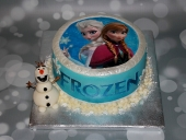 Snow-cake-with-snowman