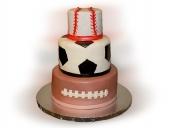 Sports-ball-cake