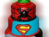 Super-hero-cake-3-tiers