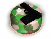 camo-cake-with-airsoft-gun-and-bullets-side-view