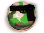 camo-cake-with-airsoft-gun-and-bullets-top-view