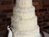 coconut-covered-wedding-cake