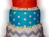 fabric-baby-shower-cake