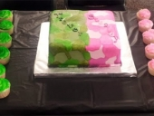 green-and-pink-camo-cake-and-cupcake-table
