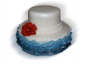 navy-blue-ruffle-sparkle-cake