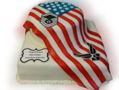 retirement-american-flag-cake